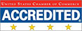 Accredited by the United States Chamber of Commerce