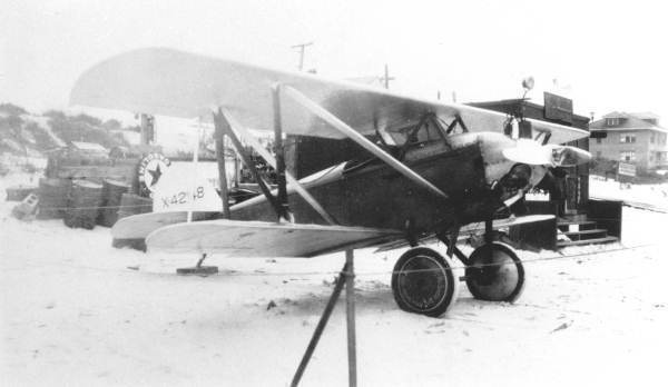 %u201CBiplane in Daytona Beach, 1928%u201D%u201D Photo courtesy of State Archives of Florida, Florida Memory, https://www.floridamemory.com/items/show/35457